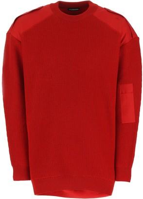 Balenciaga Logo Knitted Sweater