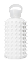 BKR 16oz Spiked Glass Water Bottle