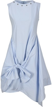 J.W.Anderson Tie-Waist Midi Dress