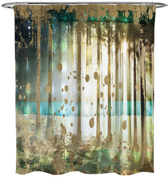 """Oliver Gal Turquoise Handmade Woven Tapestry"""" Wall Hanging"""