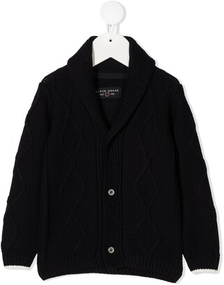 Lapin House Cable Knit Cardigan