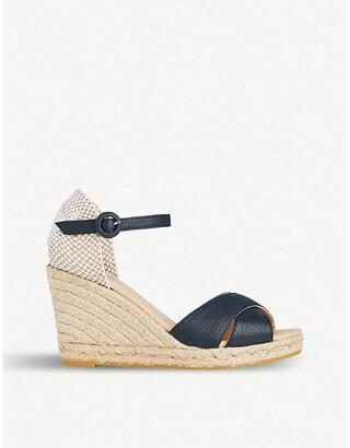 LK Bennett Angele patterned leather sandals