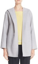 Fabiana Filippi Women's Tie Belt Hooded Wool Jacket