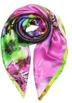 Laura Biagiotti Women's Fuchsia Silk Foulard.
