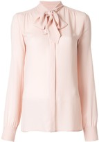 Giambattista Valli bow detail blouse