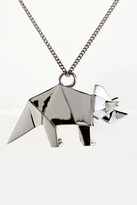 Origami Jewellery Triceratops Necklace