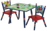Levels of Discovery Gettin' Around 3-Piece Table & Chair Set in Blue