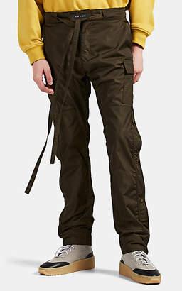 Fear Of God Men's Tech-Fabric Cargo Pants - Green