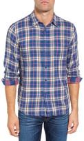 Faherty Belmar Reversible Plaid Regular Fit Sport Shirt