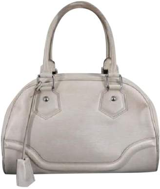 Louis Vuitton White Leather Handbags