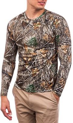 Hurley Quick Dry Realtree(r) Long Sleeve (Edge Camo) Men's Clothing