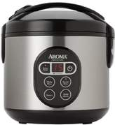 Aroma Housewares ARC-94SBD 8-Cup (Cooked) Digital Cool-Touch Rice Cooker and Food Steamer with Stainless Steel Exterior