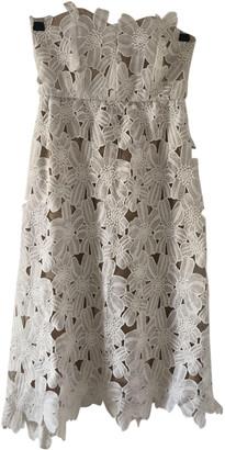 Stone_Cold_Fox Stone Cold Fox White Cotton Dresses