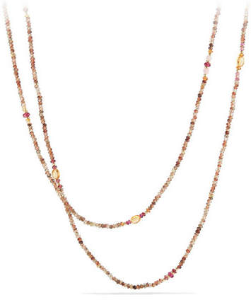 David Yurman Mustique Tweejoux Andalusite Long Beaded Necklace, 62""