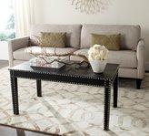 Safavieh Furniture Coffee Table in Black Croc Finish