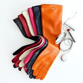 Women's Italian Leather Opera Gloves, Bright-Toned