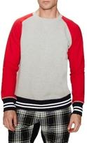 Mark McNairy Freedon Sleeve Crewneck Sweatshirt
