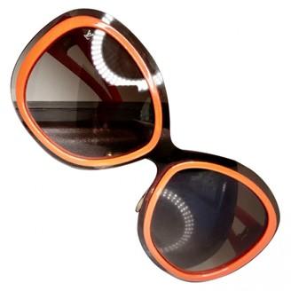 Louis Vuitton Orange Plastic Sunglasses