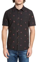 O'Neill Men's Brees Floral Print Woven Shirt