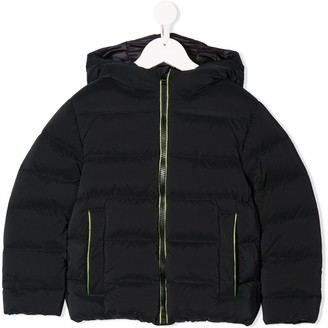 Herno Neon-Zip Puffer Jacket