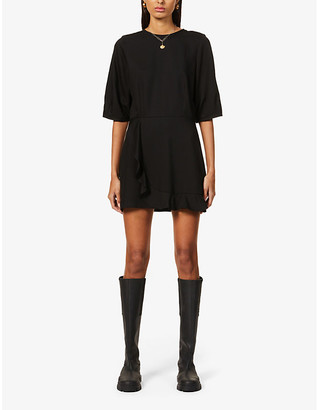 Sessun Patty woven mini dress