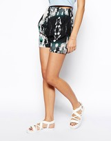 Asos Premium Shorts in Abstract Floral Print