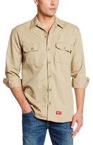 Dickies Men's Flame Resistant Long Sleeve Twill Shirt