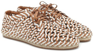 Zimmermann Woven leather espadrilles