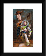 Disney Toy Story ''Buzz & Woody'' Giclée by Darren Wilson
