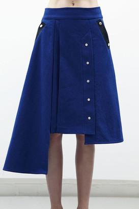 Jamie Wei Huang Claire A Line Denim Skirt Denim