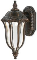 Feiss Baton Rouge 1-Light LED Outdoor Wall Sconce in Walnut