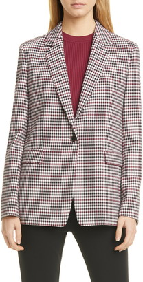 BOSS Jocalua Check Pattern Blazer