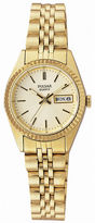 Pulsar Womens Gold-Tone Dress Watch PXX004