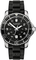 Victorinox Watch, Men's Maverick GS Black Rubber Strap 241435