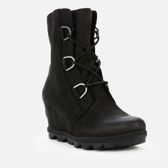 Sorel Women's Joan of Arctic II Waterproof Leather Wedged Boots