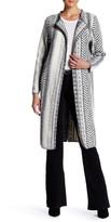 Anama Geometric Knit Long Jacket