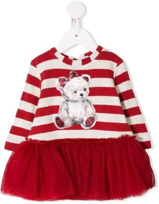 MonnaLisa striped bear dress