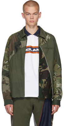 Ahluwalia Khaki Patch Harrington Jacket