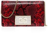 MICHAEL Michael Kors Ellie Medium Python-Embossed Shoulder Bag