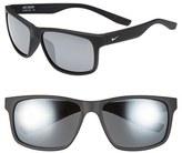 Nike Men's 'Cruiser' 59Mm Sunglasses - Black