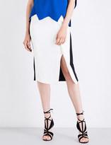 Roland Mouret Sidley stretch-crepe skirt