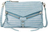 Botkier Trigger Leather Crossbody Bag, Denim