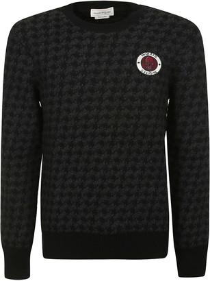 Alexander McQueen Logo Patch Sweater
