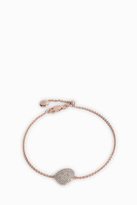 Monica Vinader Nura Diamond Pebble Bracelet