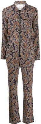 BA&SH Pitt paisley-print jumpsuit