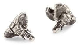 Tateossian Crystal Elephant Cuff Links