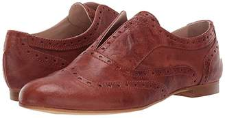 Massimo Matteo Laceless Wing Oxford (Cuoio 1) Women's Shoes