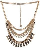 BCBGeneration Crystal Craze Faceted Bib Necklace
