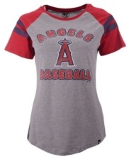 '47 Women's Los Angeles Angels Fly Out Raglan T-shirt