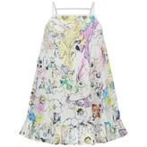 Roberto Cavalli Roberto CavalliGirls White Floral Print Sun Dress